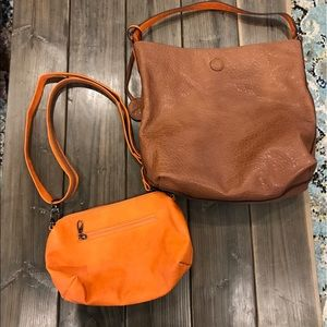 NEW reversible Sydney Love hobo & crossbody bag