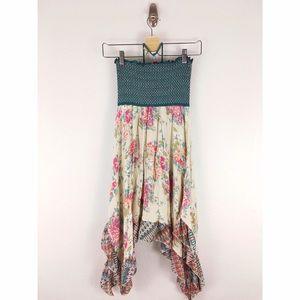 American Rag Dresses & Skirts - American Rag Smocked Bodice Halter Sun Dress Sz M