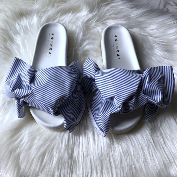 joshua sanders Shoes - Joshua sanders bow slides. authentic !