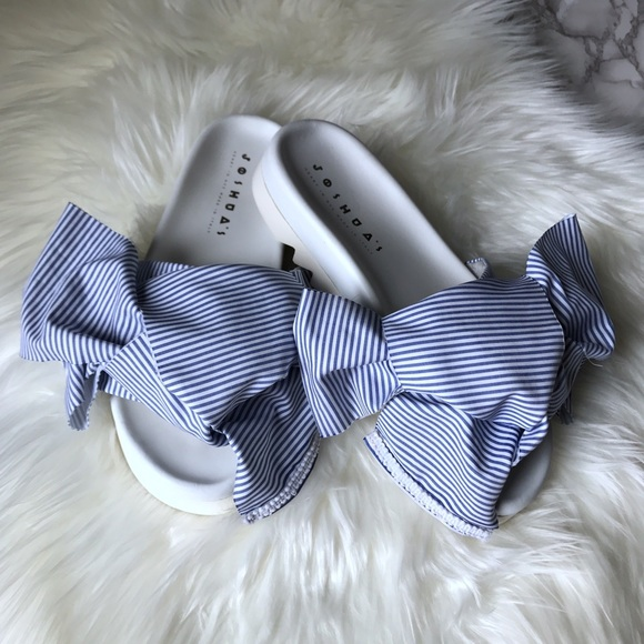 joshua sanders Shoes - Joshua sanders bow slides. authentic !