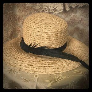 Deena & Ozzy Accessories - Straw Sun Hat
