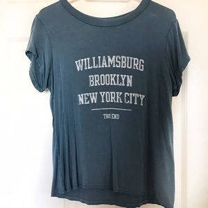 American Eagle Outfitters Tops - A&E Don't Ask Why Graphic Top
