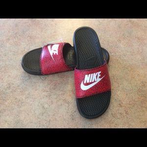 Nike Other - NWT men's Benassi Jdi print slides