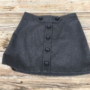 NWT Yoana Baraschi Grey Mini Skirt