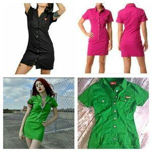 Dickies Dresses & Skirts - HOT!! Sexy Pin-up mechanics mini dress