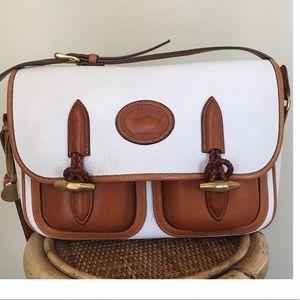 Dooney & Bourke Handbags - DOONEY AND BOURKE LARGE DOUBLE POCKET OUTBACK BAG
