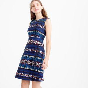 J. Crew Dresses & Skirts - J.Crew Textured Windowpane Jacquard Dress