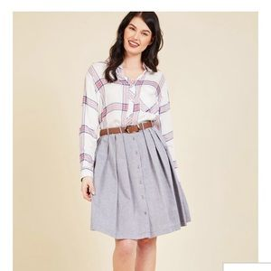 Modcloth Living the Dream Skirt