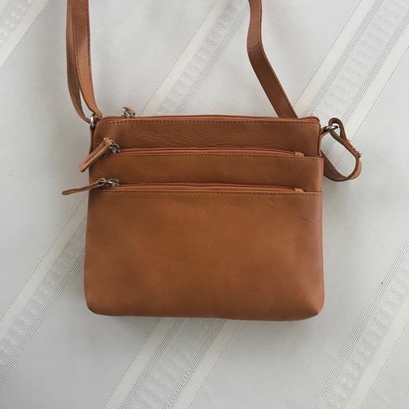 569d9a3bdbc G.H. Bass & Co Bags | Leather Shoulder Strap Womens Purse | Poshmark