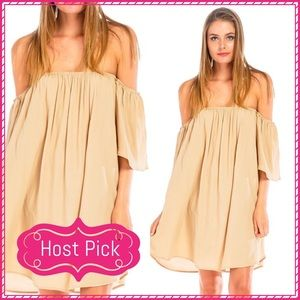 Julia Dresses & Skirts - Host Pick JUST IN Off Shoulder Flare Dress
