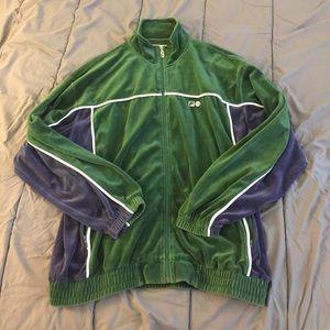 Vintage Other - Vintage Velour Fila Jacket