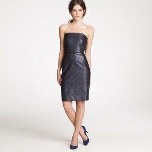 J.Crew Collection Nightwatch Dress Strapless