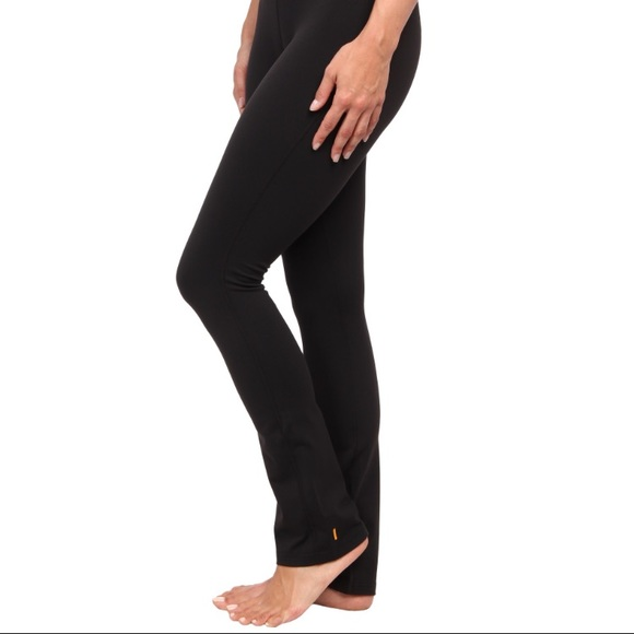 33d2f98aa2b Lucy black lotus pant (slight flare and fitted)
