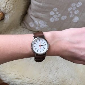 Timex Accessories - Form.Function.Form Timex Leather Watch