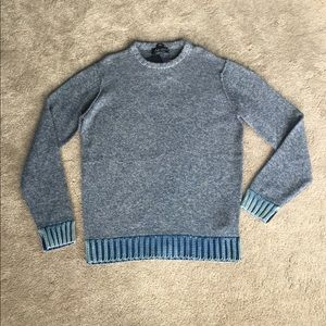 Armani Jeans Other - Mens Armani Jeans Slim fit Blue Sweater sz 3xl