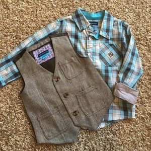 Andy & Evan Other - Andy & Evan shirt and vest