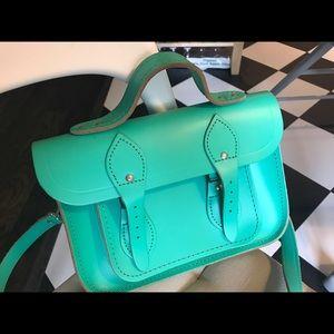 Cambridge Satchel Handbags - Cambridge satchel green 11' cross body