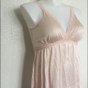 Vintage Other - VTG pastel pink nightie M/L