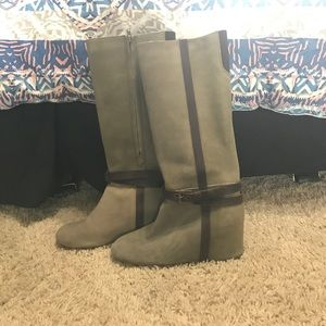80%20 Shoes - 80%20 Hidden Wedge Olive Boots