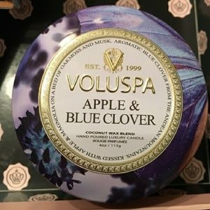 Other - Voluspa Apple & Blue Clover Candle