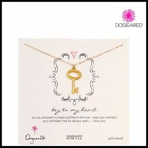 Dogeared Jewelry - DOGEARED NECKLACE Key To My Heart Pendant