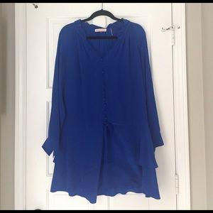 Rebecca taylor dress in cobalt blue