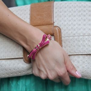 Jewelry - Pink bow bangle