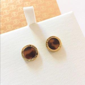  NIB Auth Michael Kors stud earrings