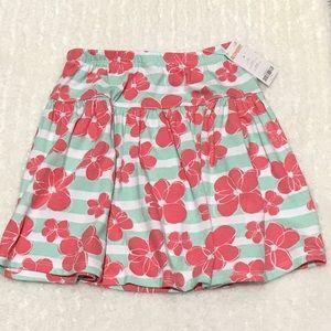 Gymboree Other - Gymboree Size 10 Floral & Stripe Skirt 🌸