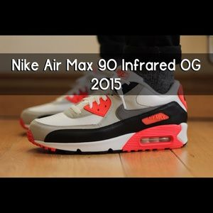 Nike Other - Men's Nike Air Max 90 OG Infrared 2015 Release