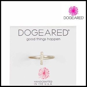 Dogeared Jewelry - Sterling Silver Handcrafted Bar Ring