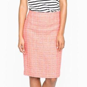 J. Crew Dresses & Skirts - J.Crew No. 2 pencil skirt in neon tweed