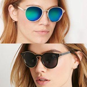 SUNNIES BUNDLE - Cateye and Mirrored Sunglasses
