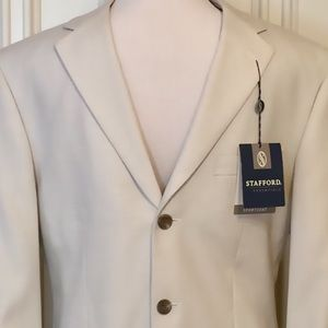 Men's Stafford Dress Blazer NWT
