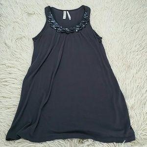 Kische Dresses & Skirts - Grey dress with sequins