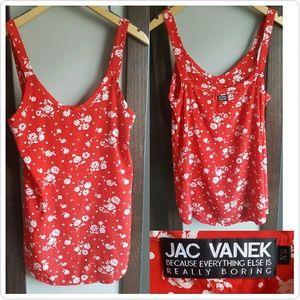 Jac Vanek Tops - Rare! JAC VANEK Tank Top