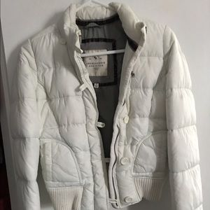 Abercrombie and Fitch Puffy Bomber Jacket