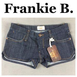 Frankie B. Pants - ☮️NWT Frankie B denim short in size 4