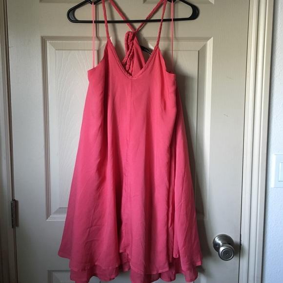 b600cb8eaef Entro Dresses   Skirts - Cute flowy pink dress!