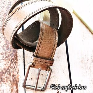 Fossil Other - Men's Leather belt👌🏽