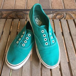 Vans Off The Wall Turquoise Sneakers