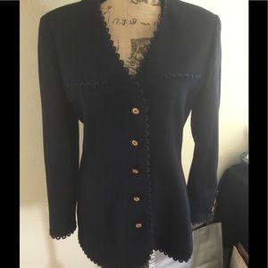 Valentino Jackets & Blazers - Navy Valentino Miss V suit jacket