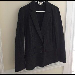 J. Crew Jackets & Blazers - J. Crew charcoal grey wool blazer