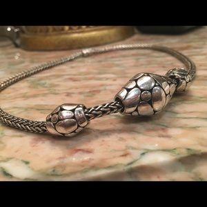 "John Hardy Jewelry - John Hardy Kali Elliptical Trio Necklace 925 16"""
