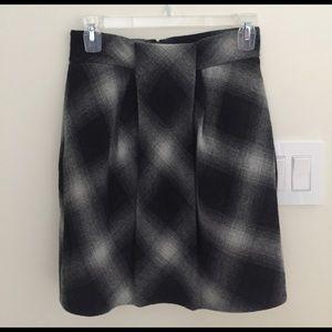 Robert Rodriguez Dresses & Skirts - NWOT Robert Rodriguez black &grey plaid wool skirt