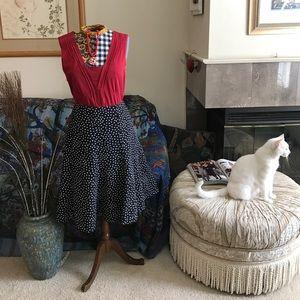 Jack and Jones Dresses & Skirts - Jones New York Black White Tulip 🌷 Skirt Size 12