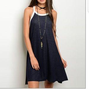 Dresses & Skirts - NWOT  Denim style Tunic Dress