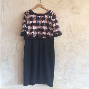 Shelby and Palmer Dresses & Skirts - Black and Tan dress