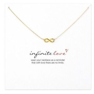 Jewelry - Infinite love ∞ infinite dainty pendant necklace