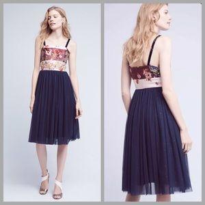 Anthropologie Tulle Dress